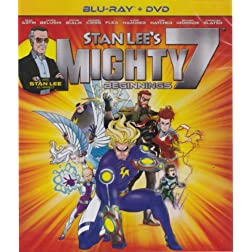 Stan Lees Mighty Slam 7-Beginnings Blu Ray/DVD Combo  [Blu-ray]