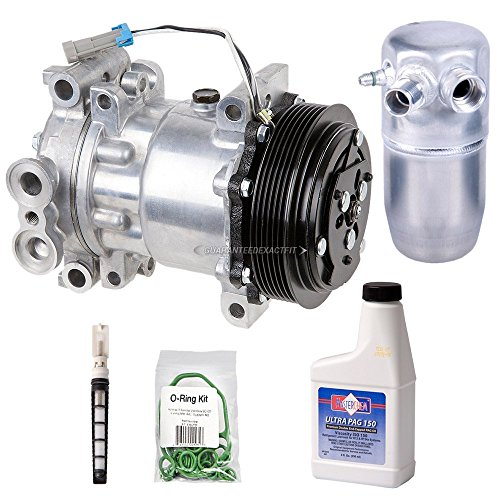 New Ac Compressor & Clutch With Complete A/C Repair Kit For Chevy Gmc Truck Suv - BuyAutoParts 60-80104RK New (2001 Chevy Suburban Ac Compressor compare prices)