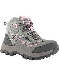 HI-TEC HILLSIDE WP JRG Kids Big Girls Waterproof Hiking Boots