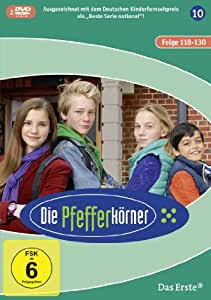 Die Pfefferkörner - Staffel 10 (Folge 118-130) [2 DVDs]