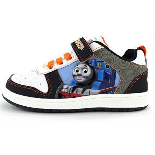7. Thomas Train Kids White Athletic Sneakers Shoes