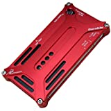Arachnophobia Aluminum Metal Bumper Case Cover for Apple iPhone 5 Transformer Red