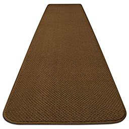 Skid-resistant Carpet Runner - Bronze Gold - 4 Ft. X 27 In. - Many Other Sizes to Choose From