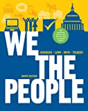 9780393124361: We the People: An Introduction to American Politics (Full Ninth Edition (with policy chapters))