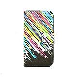 BONROY® PU Leder Tasche Case Cover für Samsung Galaxy J1