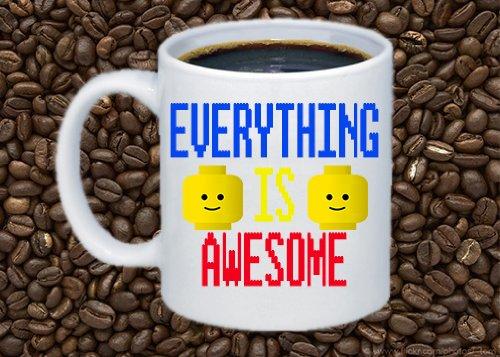 "Lego Movie ""Everything Is Awesome"" Coffee Mug"
