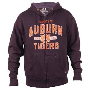 Property of Aubrn Tigers Full Zip Hoodie by J. America
