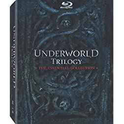 Underworld Trilogy (Underworld / Underworld: Evolution / Underworld: Rise of the Lycans) (+ UltraViolet Digital Copy) [Blu-ray]