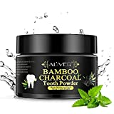 Activated Natural Bamboo Charcoal Teeth Whitening Powder, Effie Lancelot Tooth Whitener Powder for Stains, Tartar, Yellow Teeth and Bad Breath (50g, 1.76oz)