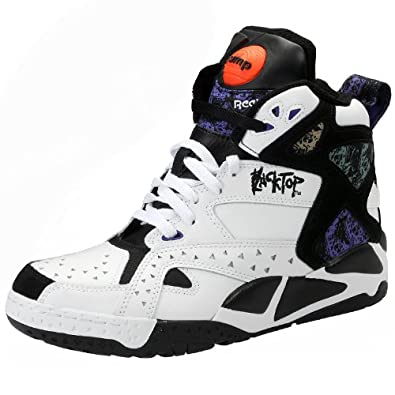 Buy Reebok Mens Blacktop Battleground Basketball Shoes by Reebok