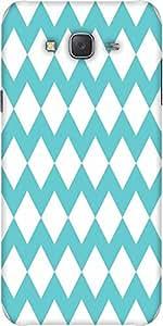 Snoogg Waves Vs Wave 2570 Designer Protective Back Case Cover For Samsung J5