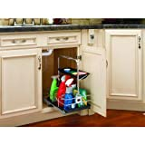 Rev-A-Shelf 544-10C-1 544 Series Removable Under Sink Caddy with Carrying Handle,