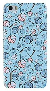 TrilMil Printed Designer Mobile Case Back Cover For Huawei Honor 6