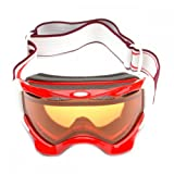Oakley Twisted Snow Ski Goggle In Viper Red With Persimmon Lens (57-712-K00086)