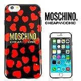 【 Moschino 】 iPhone6(4.7inch)対応ケース 並行輸入品 モスキーノ ハートデザイン Mosch02