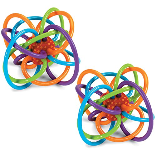Manhattan Toy Winkel Baby Activity Toy - 2 Pack