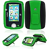 Leappad 3 Case - ACdream LeapPad 3 Protective Case - PU Leather Case for LeapFrog LeapPad3 Kids' Learning Tablet (Only Fit LeapPad 3 [2014 Version] NOT FIT LeapPad 2) - Green