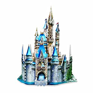 Amazon.com: Cinderella's 3D Castle 400 Piece Puzzle: Toys & Games