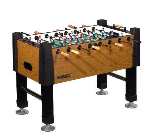 Carrom 525 00 signature foosball table burr oak phillipp for Table 52 reviews