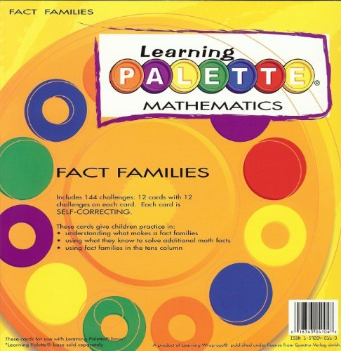 Level One Math Fact Families - 1