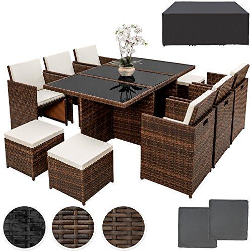 tectake-set-di-mobili-da-giardino-poli-rattan-alluminio-arredamento-set-6-sedie-tavolo-4-sgabelli-in
