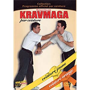 Kravmaga Ceinture Jaune, Orange