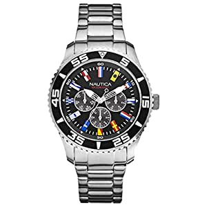 Nautica A14631G Flags Multifunction Mens Watch
