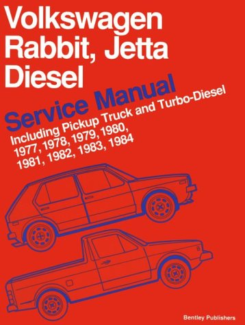 Volkswagen Rabbit, Jetta Diesel Service Manual Including Pickup Truck and Turbo-Diesel