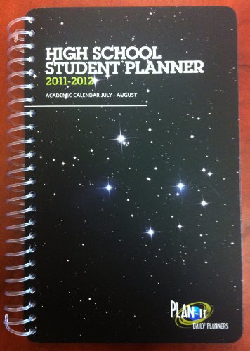 2011-2012 Plan-It Academic Student Day Planner - High School Edition