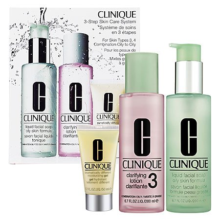 product analysis clinique 3 step system