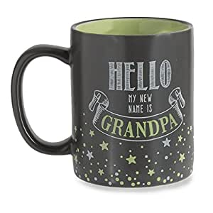 Grasslands road hello my new name is grandpa for Grasslands road mugs