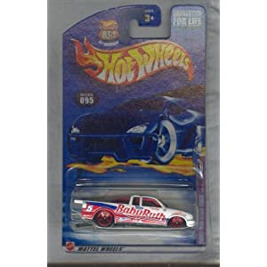 Hot Wheels 2002-095 ChevY Pro Stock Truck 1 of 4 35th Anniversary 1:64 Scale