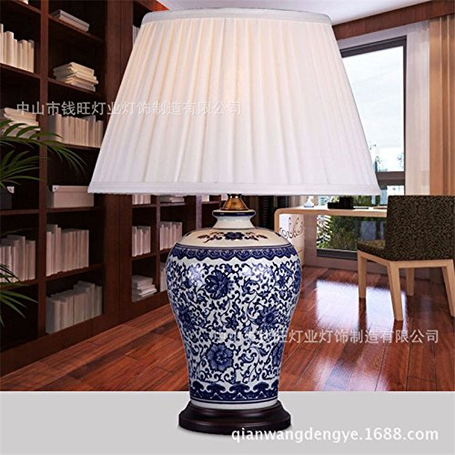 vintage-blue-and-white-chinese-porcelain-table-lamp-living-room-bedroom-fabric-bed-ceramic-table-lam