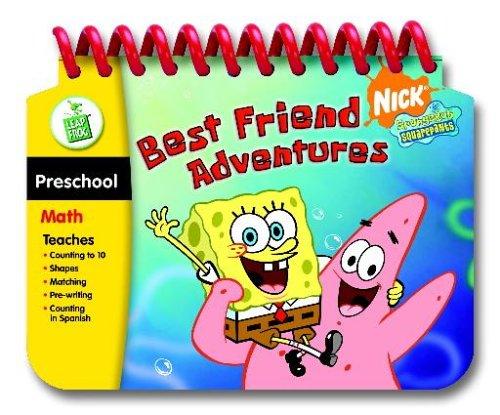LeapFrog My First LeapPad Educational Book: SpongeBob SquarePants Best Friend Adventures - 1
