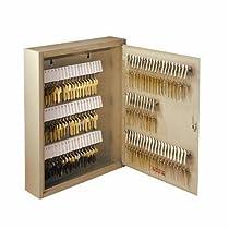 STEELMASTER Unitag Locking 200-Key Cabinet, 16.5 x 20.13 x 4.88 Inches, Sand (201920003)