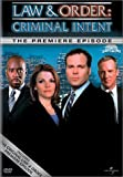 Law & Order: Criminal Intent - Premiere Eps [DVD] [Import]