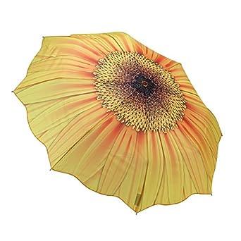 Galleria Sunflower Bloom Folding Umbrella - Sunflower Bloom