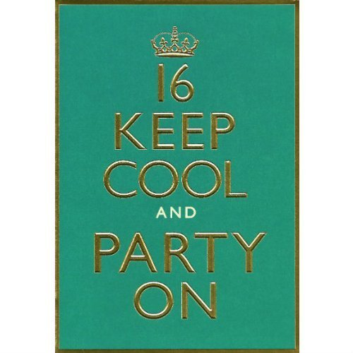Humour-Birthday-Greetings-Card-Hallmark-16-Keep-Cool-And-Party-On-Unisex-Birthday-Card-by-Humour-Birthday-Greetings-Card