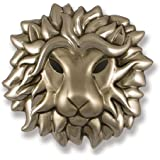 Michael Healy Designs MH1533 Regal Lion Door Knocker, Nickel Silver