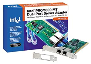 Intel PWLA8492MT PRO/1000 MT PCI/PCI-X Dual Port Server Adapter (Discontinued by Manufacturer)