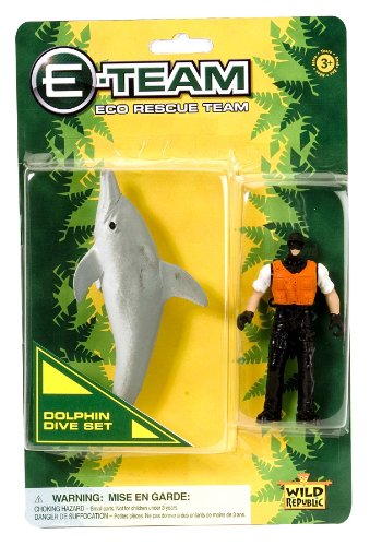 Wild Republic E-Team Blister Dolphin - 1