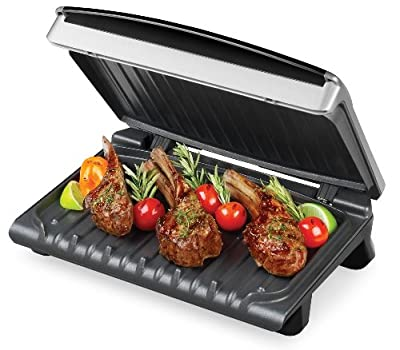 George Foreman GR1080P Temp to Taste 72 Square Inch Variable Temperature Indoor Contact Grill from George Foreman