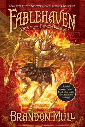 Cover of Keys to the Demon Prison (Fablehaven)