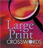 Large Print Crosswords #4 (Navh National Association for Visually Handicapped)