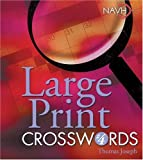 img - for Large Print Crosswords #4 book / textbook / text book