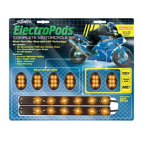Street-Fx Orange Electropod Kit, Manufacturer: Street Fx, Manufacturer Part Number: 1042488-Ad, Stock Photo - Actual Parts May Vary.
