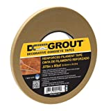 Intertape Polymer Group DCG375 Decorative Concrete Grout Filament Tape, .375 in x 60 yds