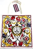 Jack Wills Large Rowanfield Pvc Canvas Shopper Tote Bag