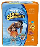 NewBorn, Baby, Huggies Little Swimmers Disposable Swimpants (Character May Vary), Medium 18 Count New Born, Child, Kid