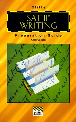 SAT II Writing Preparation Guide (Cliffs Test Prep)